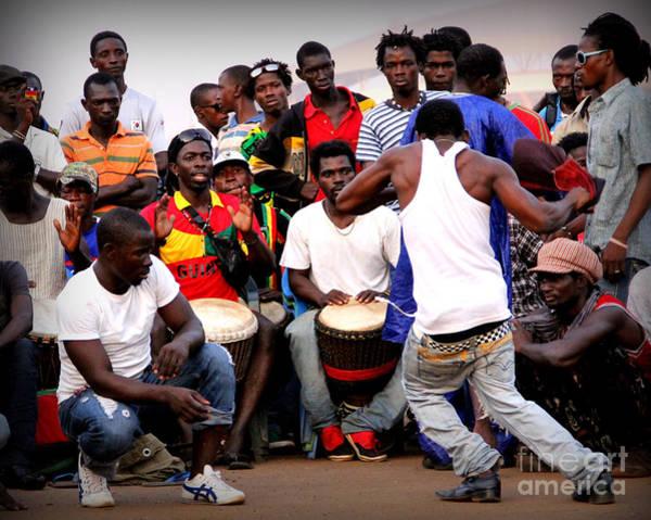 Djembe Wall Art - Photograph - Guinean Dancing  by Renee Rushing