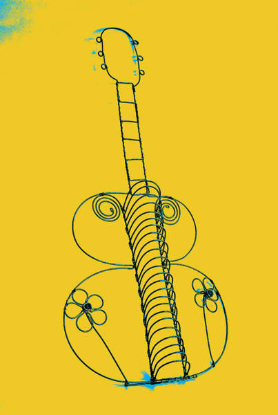 Pyrography - Guitar 2 by Mauro Celotti