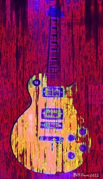 Strat Photograph - Guitart by Bill Cannon