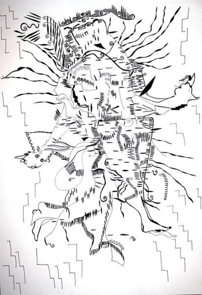 Gule Wamkulu - Malawi Art Print