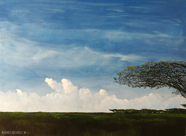 Painting - Gulf Coast Oaks by Brandy Beverly
