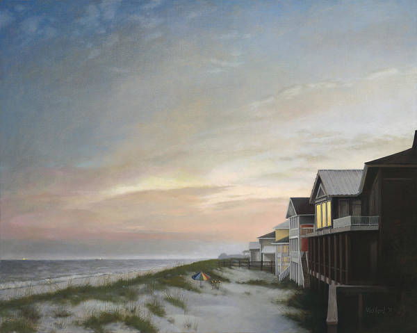 Gulf Shores Alabama Painting - Gulf Shores by Duane Wolford