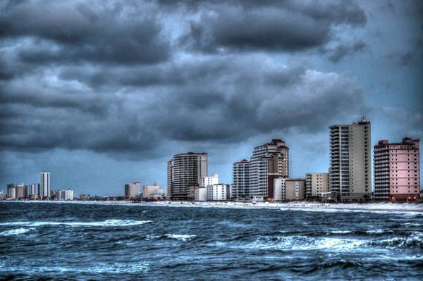 Iguana Digital Art - Gulf Shores From The Pier by Michael Thomas