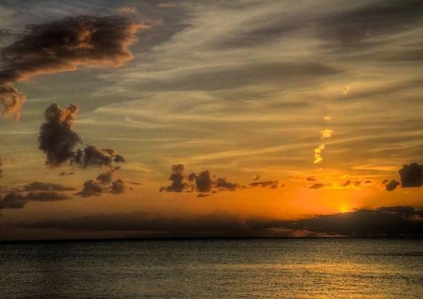 Wall Art - Photograph - Gulf Sunset by William Wetmore