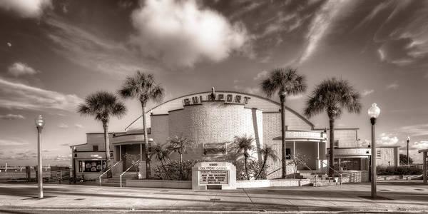 Wall Art - Photograph - Gulfport Casino In Sepia by Tammy Wetzel