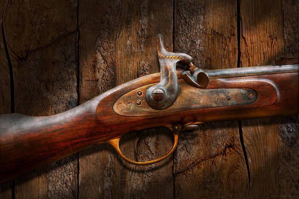 Gunslinger Photograph - Gun - Musket - London Armory  by Mike Savad