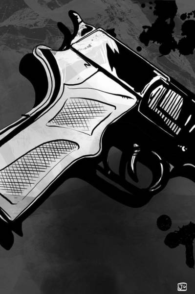 Mystery Digital Art - Gun Number 1 by Giuseppe Cristiano