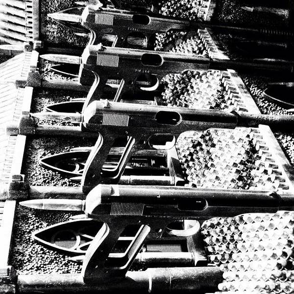 Guns Photograph - Guns! Church! by Monica Flores