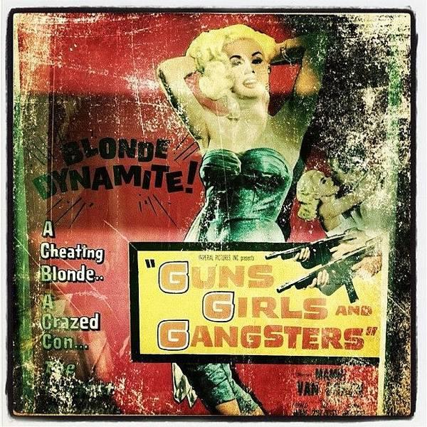 Guns Photograph - Guns Girls Gangsters by Torgeir Ensrud