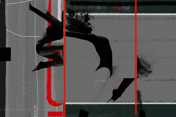 Olympics Photograph - Gymnastics by Naxart Studio