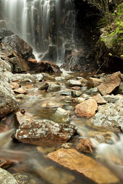 Photograph - Hadlock Brook Falls by Sara Hudock