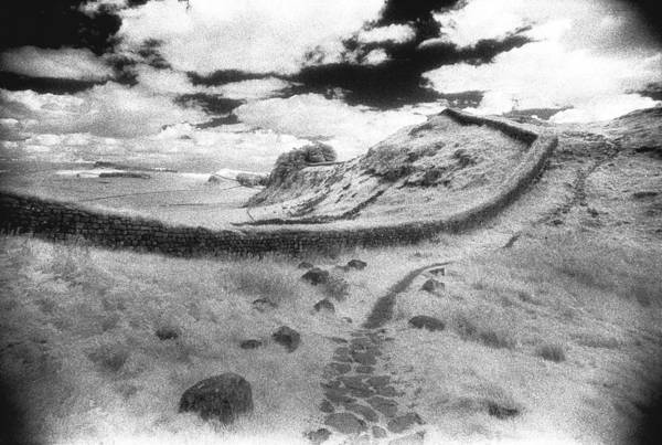 Striking Photograph - Hadrians Wall by Simon Marsden