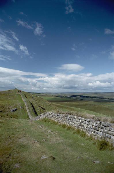 Hadrians Wall Photograph - Hadrians Wall Stretches by Bill Curtsinger