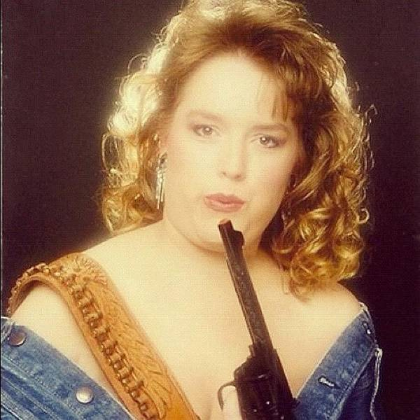 Weapons Photograph - Hahahaha #glamourshots #glamour #80s by Bryce Gruber