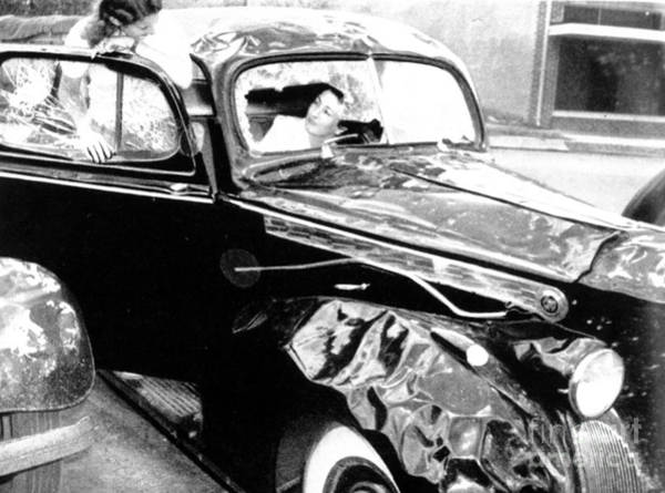 Photograph - Hail Damage, 1940 by Science Source