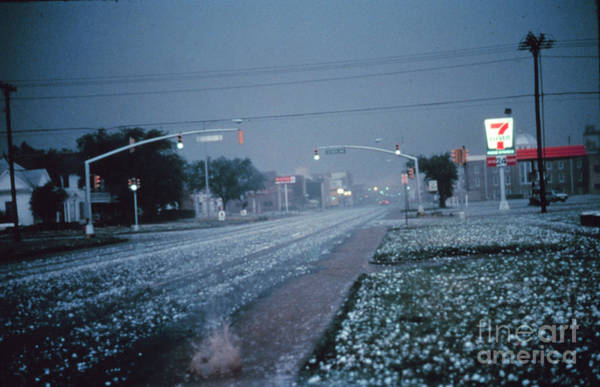 Photograph - Hail by Science Source