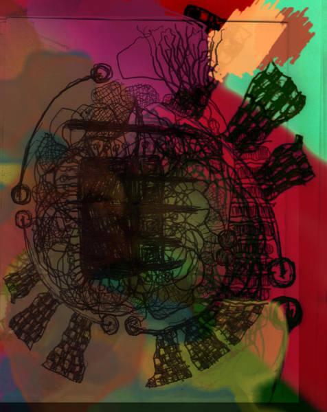Wake Digital Art - Hair Ball by James Thomas