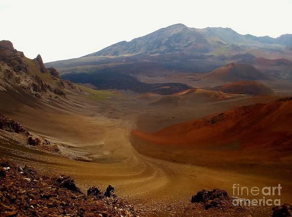 Photograph - Haleakala Crater by Jeanie Watson
