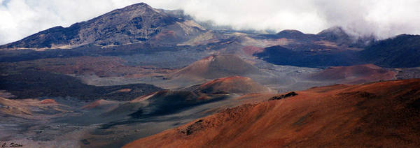 Photograph - Haleakala Volcano by C Sitton