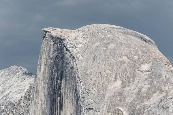 Half Dome From Glacier Point At Yosemite Np Art Print