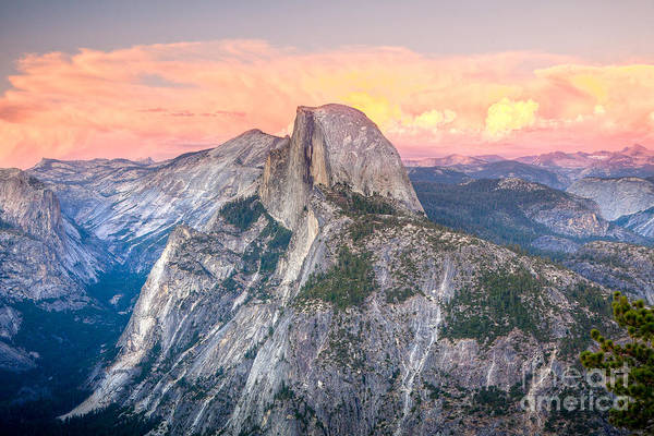 Photograph - Half Dome Sunset by Susan Cole Kelly