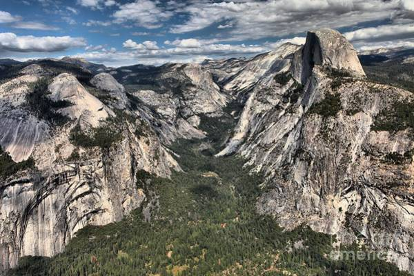 Photograph - Half Dome Valley by Adam Jewell