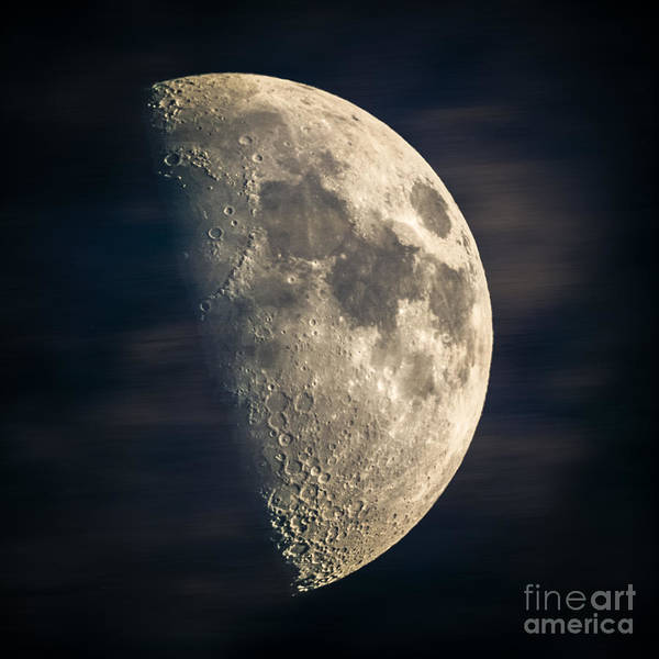 Photograph - half moon III by Hannes Cmarits