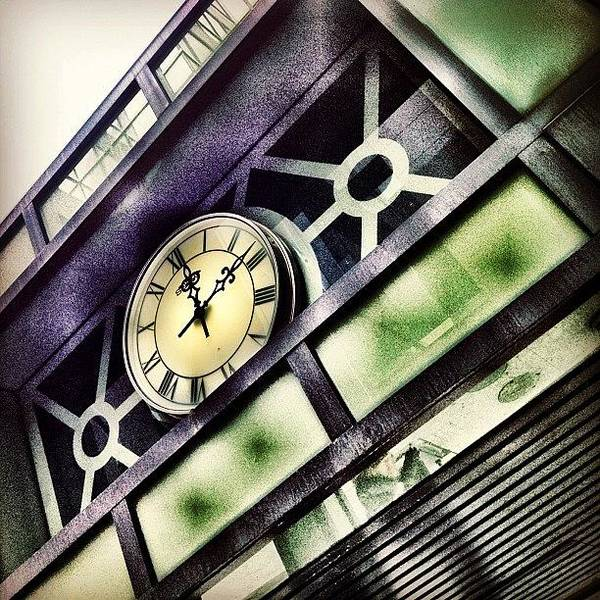 Buildings Wall Art - Photograph - Half Time by Christopher Campbell