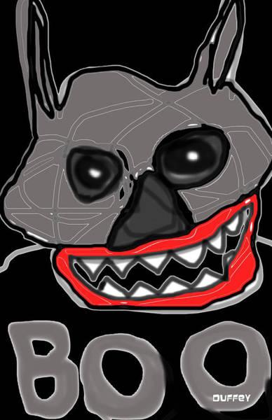 Photograph - Halloween 3- Boo by Doug Duffey