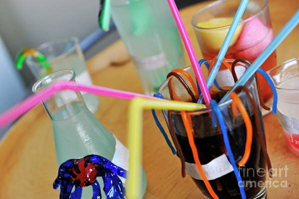 Ugliness Photograph - Halloween Beverages by Sami Sarkis