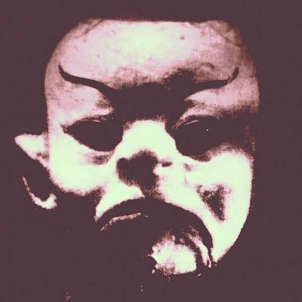 Holiday Wall Art - Photograph - Halloween Puppet #halloween #puppet by A Rey