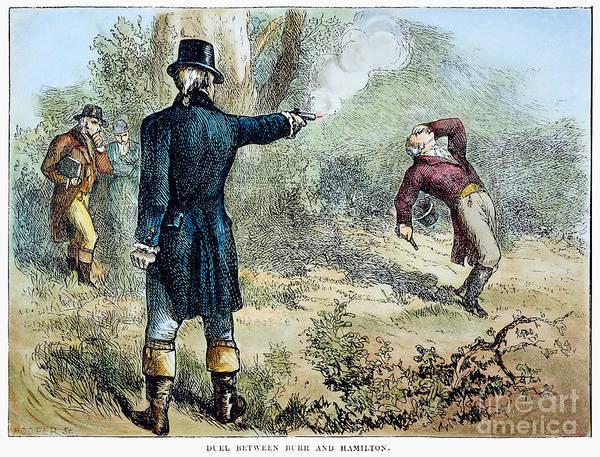 Wall Art - Photograph - Hamilton-burr Duel, 1804 by Granger