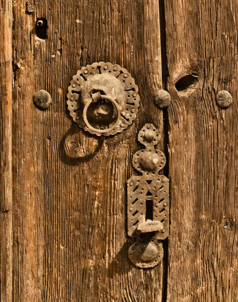 Photograph - Safranbolu, Turkey - Hammered Hardware by Mark Forte
