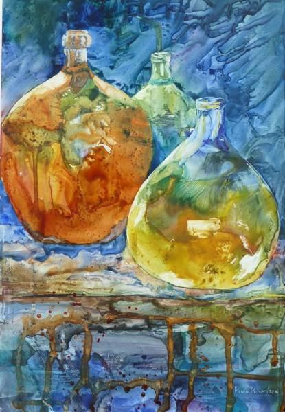 Painting - Handblown by Paula Robertson