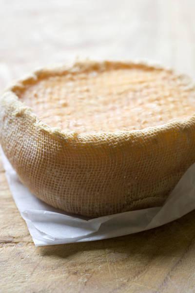 Milk Farm Photograph - Handmade Raw Milk Goat Cheese From Extremadura - Spain by Frank Tschakert