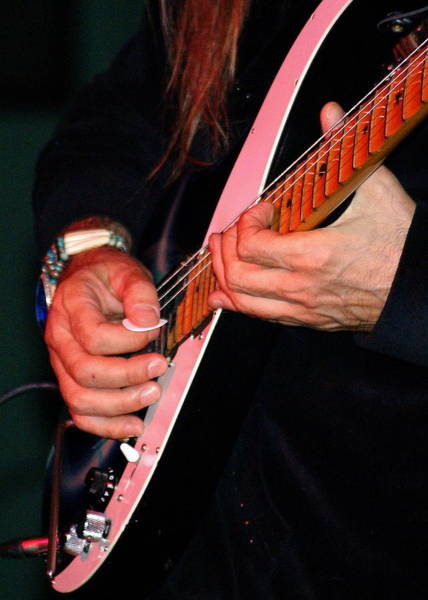 Photograph - Sun In The Hands And Guitar Of Uli Jon Roth by Ben Upham