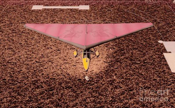 Digital Art - Hang Glider by Stanley Morganstein