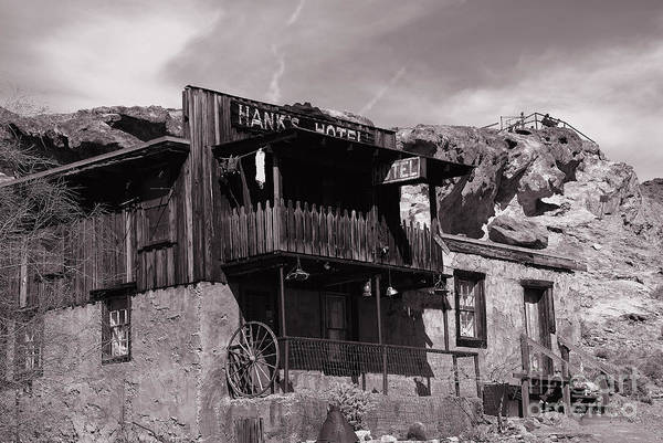 Photograph - Hanks Hotel In Calico Ghost Town by Susanne Van Hulst