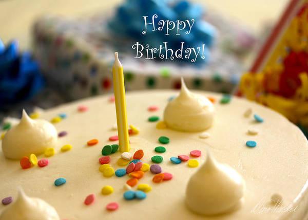 Photograph - Happy Birthday by Diana Haronis