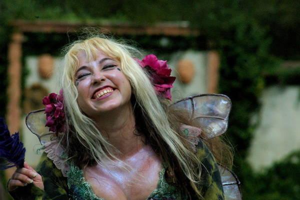 Photograph - Happy Fairy by Teresa Blanton