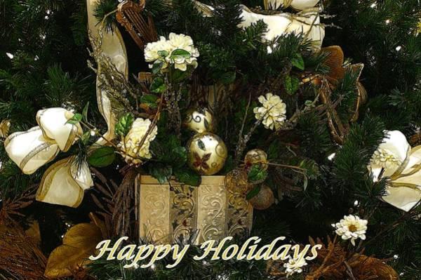 Photograph - Happy Holidays II by Sandy Keeton