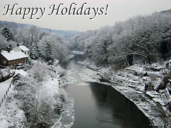 Photograph - Happy Holidays by Sarah Broadmeadow-Thomas