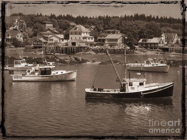 Stonington Photograph - Harbor Stonington Maine by Jim Wright