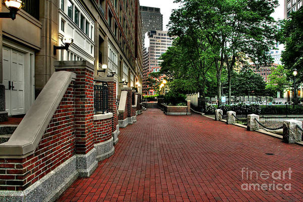 Harbor Walkway Art Print