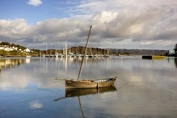 Wall Art - Photograph - Harbour In Tarbert Scotland, Uk by John Short