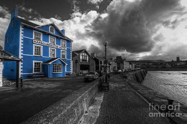 West Wales Photograph - Harbourmaster Hotel by Rob Hawkins