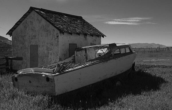 Photograph - Hard Aground by HW Kateley