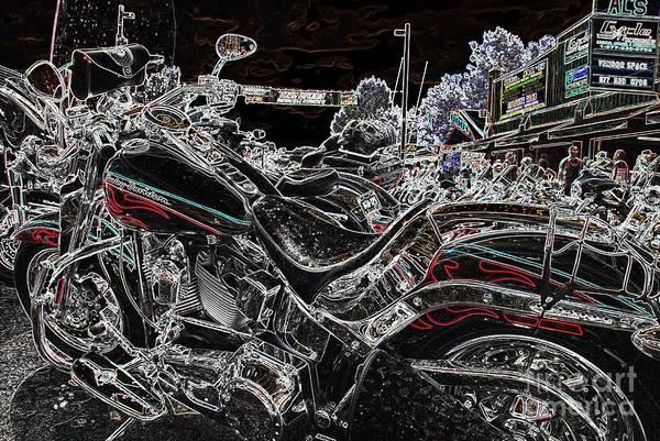 Harley Davidson Style 3 Art Print