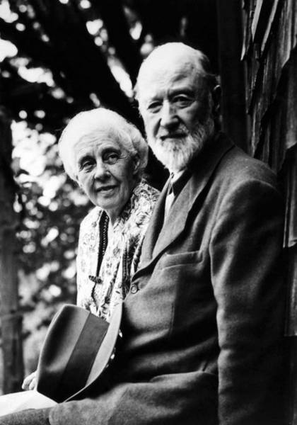 Ives Photograph - Harmony And Charles Ives At West by Everett