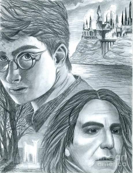Rupert Grint Wall Art - Drawing - Harry Potter by Crystal Rosene
